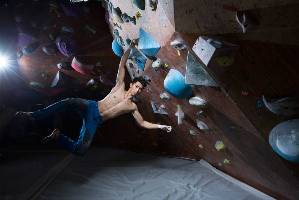 Opening of JUST CLIMB bouldering gym in San Po Kong