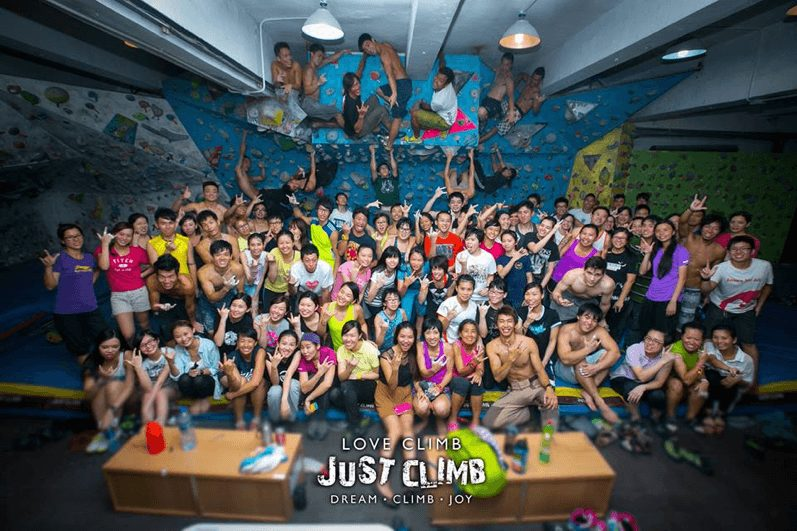 Accumulated more than 700 organisations and groups to enjoy the endless fun of climbing